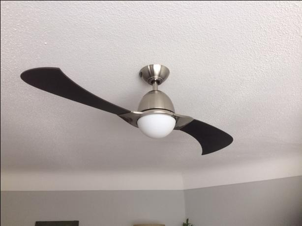 Solana 48-Inch Two-Blade Indoor Ceiling Fan
