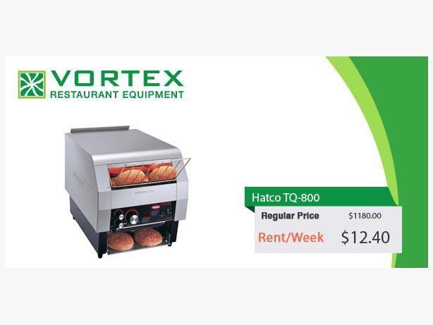 """Hatco TQ-800 800 Slices / HR Conveyor Toaster """"Used"""""""