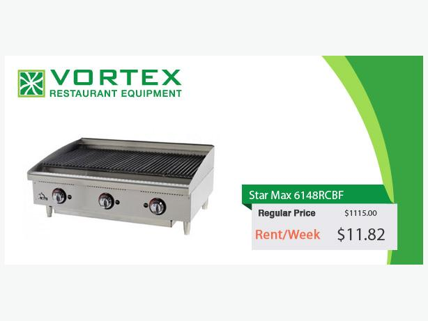 "Star Max 6148RCBF 48 Gas Radiant Charbroiler ""Used"""