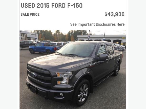 "F150 Lariat. Call ""Les the CarGuy"" on this Nicely Trimmed 2015 Ford"