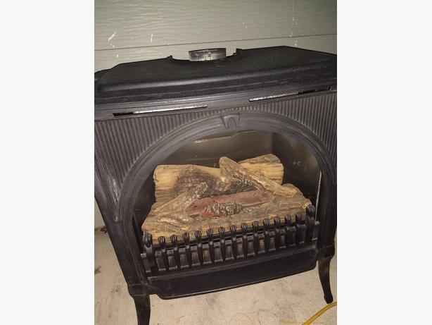 CAST IRON GAS FIREPLACE