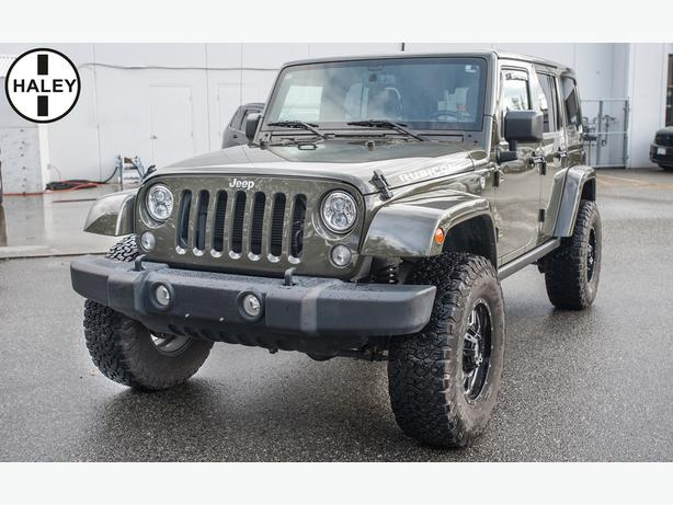 "2016 Jeep Wrangler Unlimited Rubicon ***4"" Lift with 35 IN BFG K02's****"