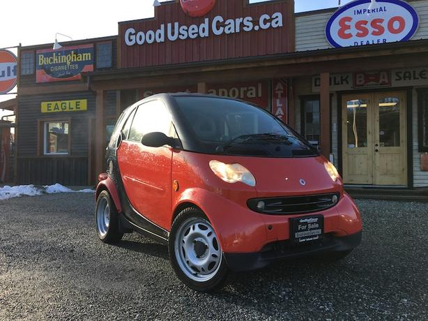 2005 Smart Fortwo Pure Cdi Diesel With Only 69000 Km Outside