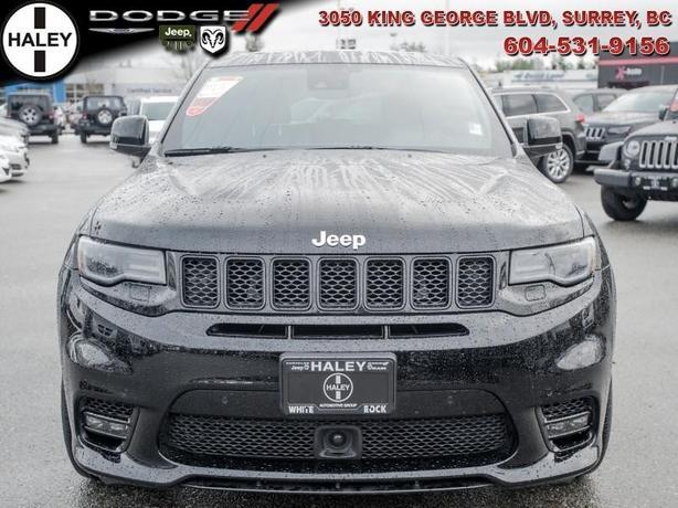 2017 Jeep Grand Cherokee SRT- Low KM's