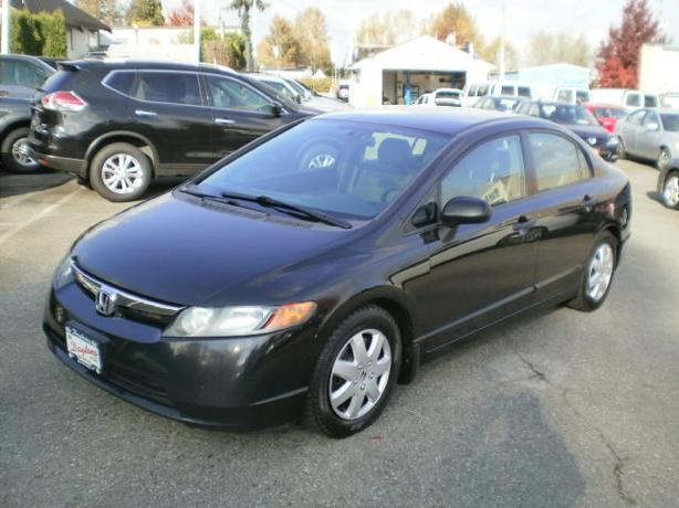 2008 Honda Civic DX-G, auto, 2 year power train warranty,
