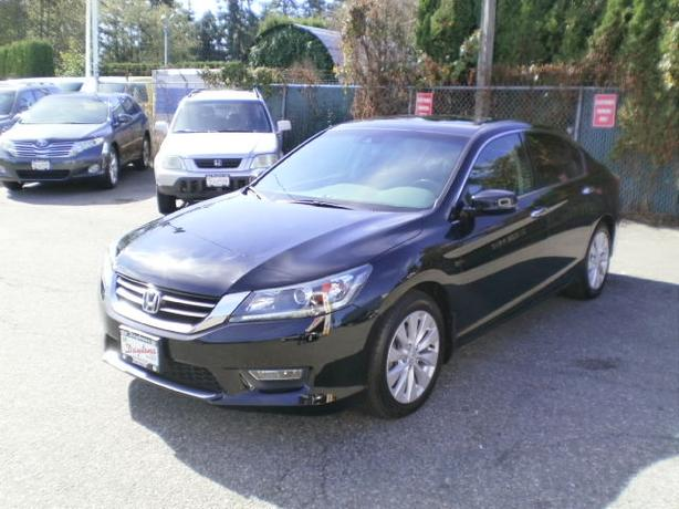 2013 Honda Accord  EX-L, no accidents, balance of factory warranty,