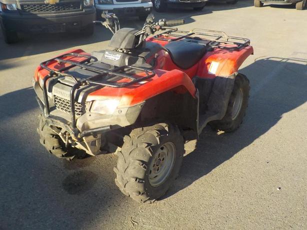 2015 Honda Fourtrax Rancher 4WD ATV