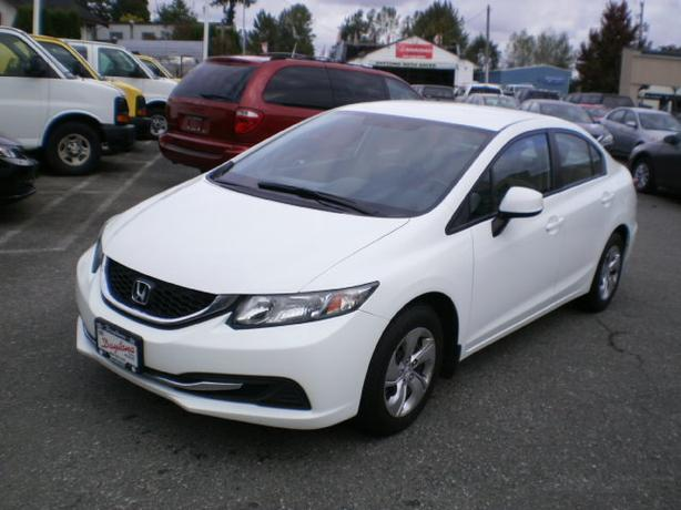 2013 Honda Civic LX, automatic, no accdients, 2 year power train warranty,
