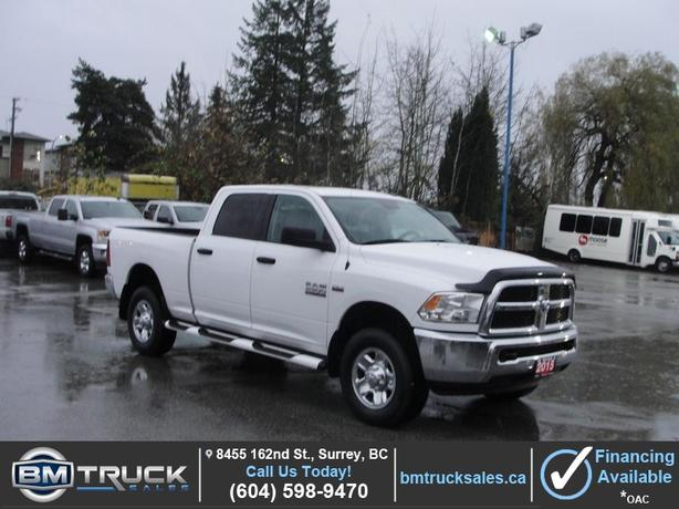 2015 RAM 2500 SLT CREW CAB SHORT BOX 4X4 HEMI *ONLY 24000KM**