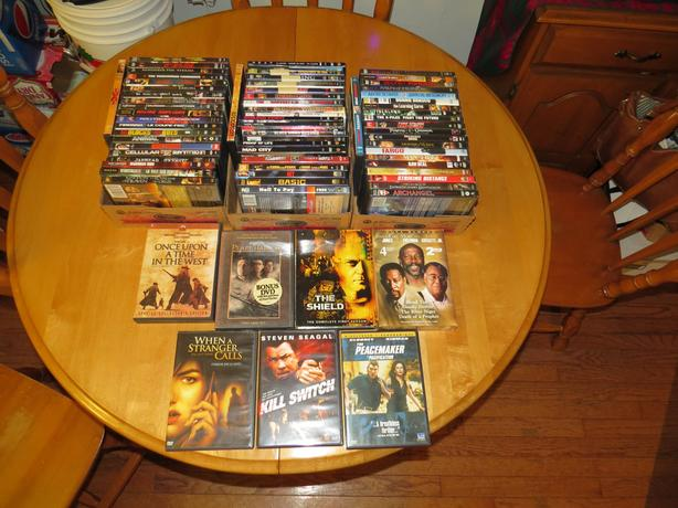 MANY WAR/ACTION/HORROR/THRILLER DVD MOVIES FOR SALE