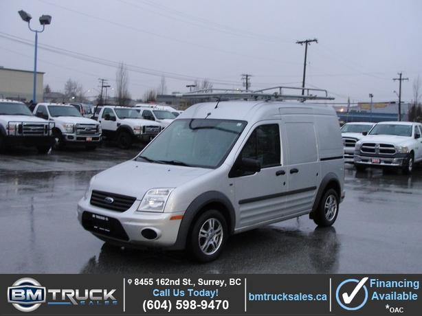 2012 FORD TRANSIT CONNECT XLT CARGO ONLY 46,000KM