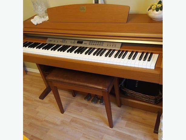 Yamaha Clavinova Piano with Bench and Music Books