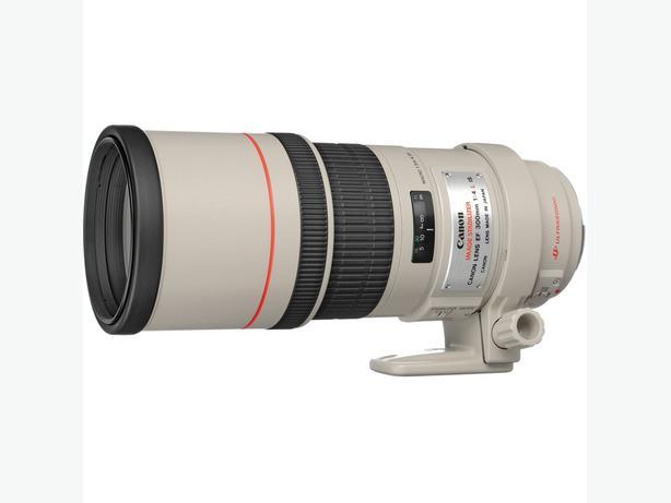 Canon EF 300mm F/4L IS USM lens