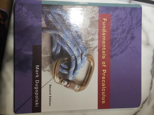 Fundamentals of Precalculus textbook Oak Bay, Victoria