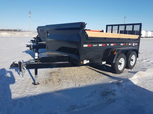 2018 Precision Trailers 6X12 Dump Box HH4226