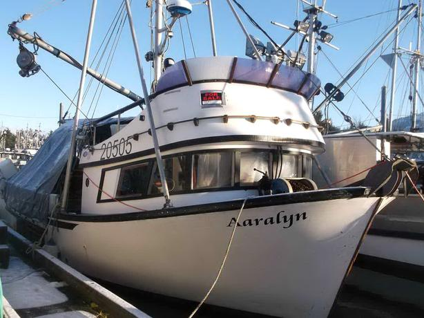 LeClercq Crab Sein Gillnet Vessel For Sale - Aaralyn
