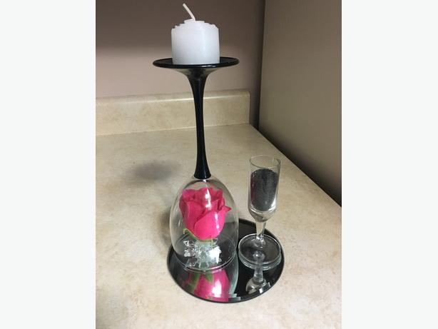Candle holder centerpieces perfect for Mother's Day