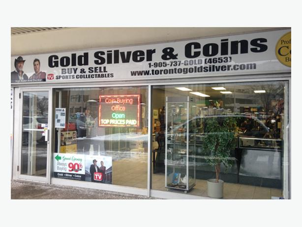 Toronto Gold Silver & Coins: Always Buying & Selling!