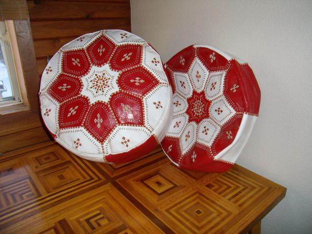 Moroccan Poufs (Leather)