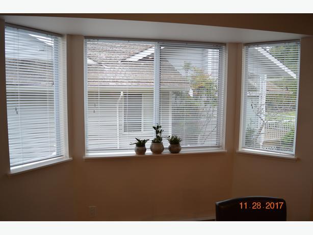 2 Venetian blinds