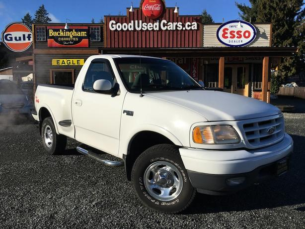1999 Ford F150 V6 Short Box 4x4 With Only 153000 Km Outside