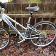 Blue Women's Aluminum Raleigh Mountain Bike
