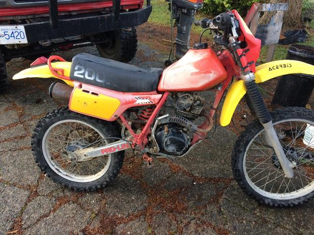 Honda xr200R
