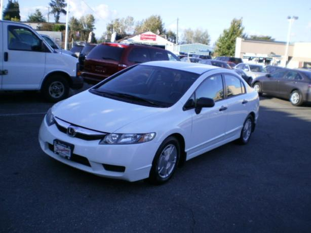 2009 Honda Civic DX-G, 94400 km, 2 year power train warranty,