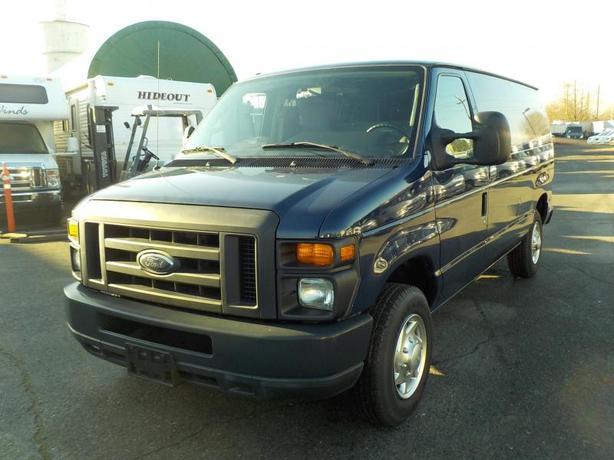 2010 Ford Econoline E-150 Cargo Van with Rear shelving & Bulkhead