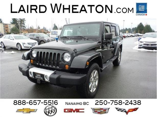 2012 Jeep Wrangler Unlimited Sahara 4x4, Hard Top