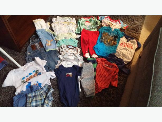 Baby Boys Clothing 3-9 months