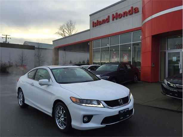 2014 Honda Accord EX-L-NAVI V6 | AUTO | LEATHER | HEATED SEATS