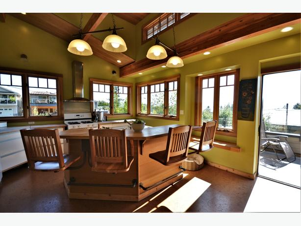 Beautiful Home on Double Lot with Fantastic Ocean Views in White Rock