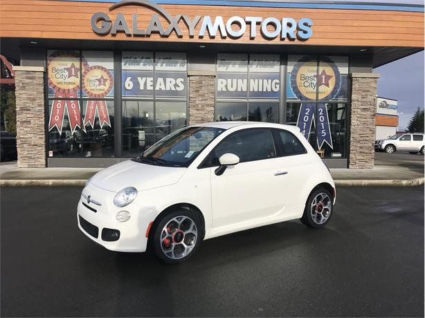 2016 FIAT 500 SPORT - LCD TOUCH SCREEN, A/C, BLUETOOTH