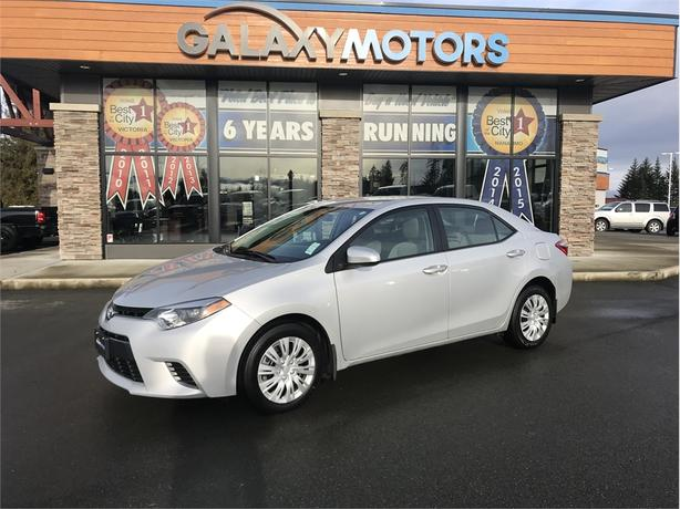 2015 Toyota Corolla LE - CRUISE CONTROL, BACKUP CAM, TOUCH SCREEN
