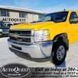 2011 Chevrolet Silverado 2500HD Work Truck - 6L Vortec, 4x4, Accident Free!