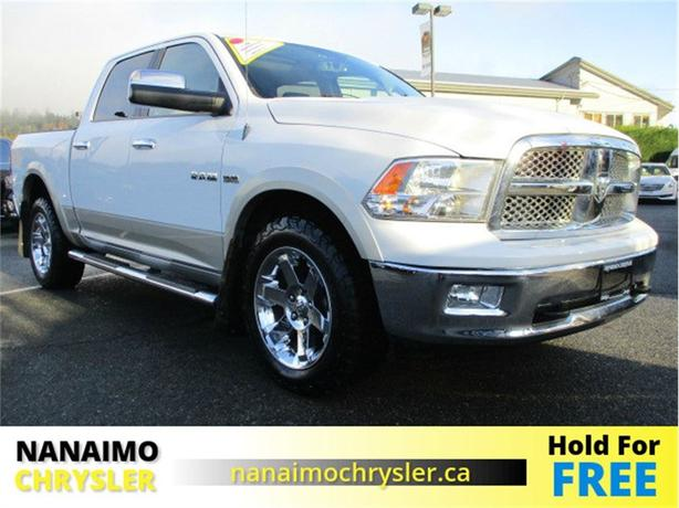 2010 Dodge Ram 1500 Laramie Navigation. Rear View Backup Camera