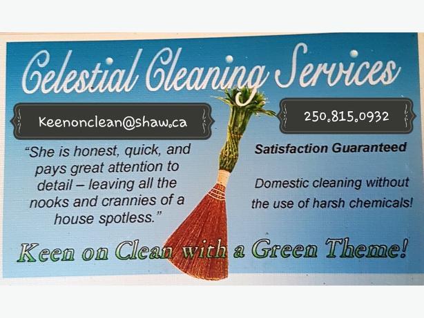 1 bi-weekly, 2 hour cleaning