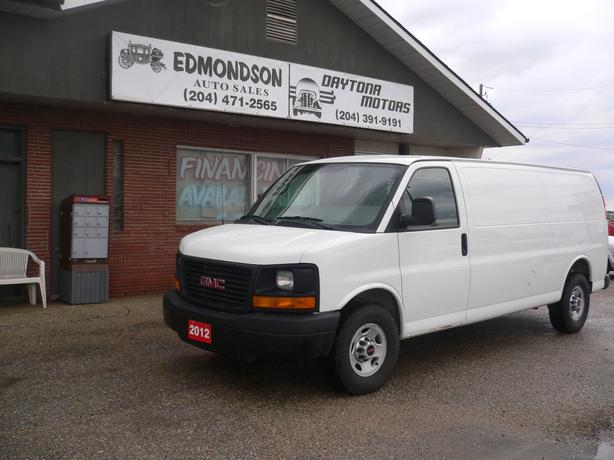 2012 GMC Savana Cargo van  w/  2 YEAR WARRANTY