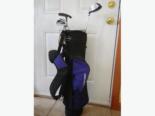 Like new Kid's Golf bag and clubs