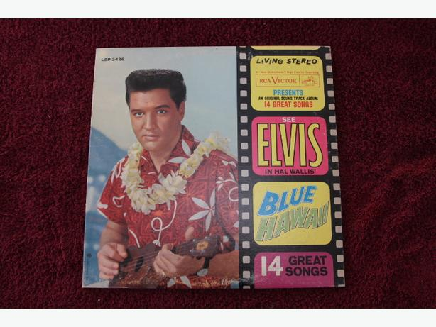Vintage Elvis 6 Album Set