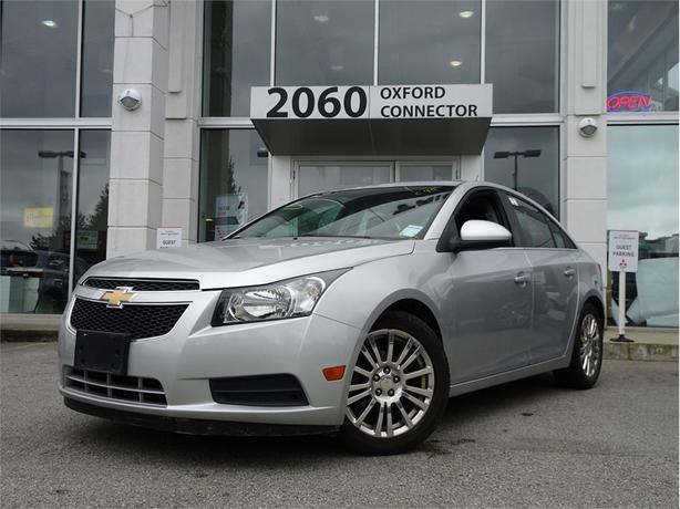 2012 Chevrolet Cruze ECO, ALLOY WHEELS, BLUETOOTH, POWER GROUP