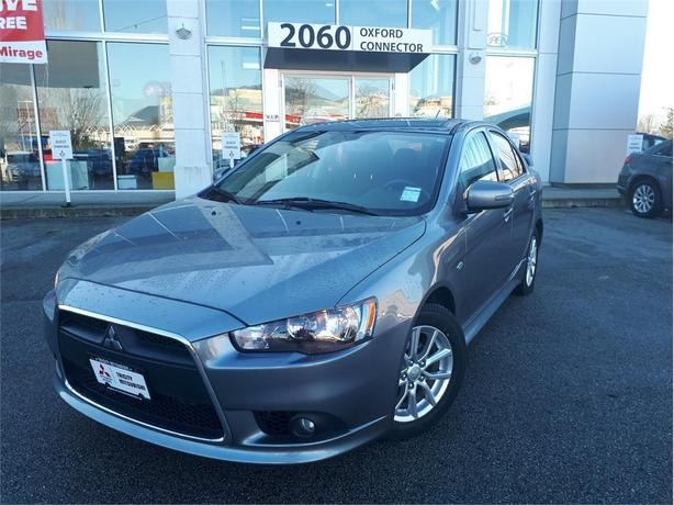 2015 Mitsubishi Lancer SE ALL WHEEL CONTROL, SUNROOF, HEATED SEATS