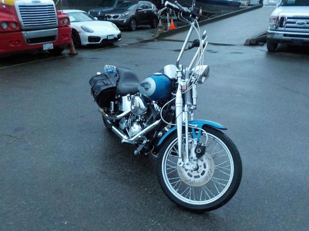 2005 Harley-Davidson Fxstsi Motorcycle with Saddle Bags