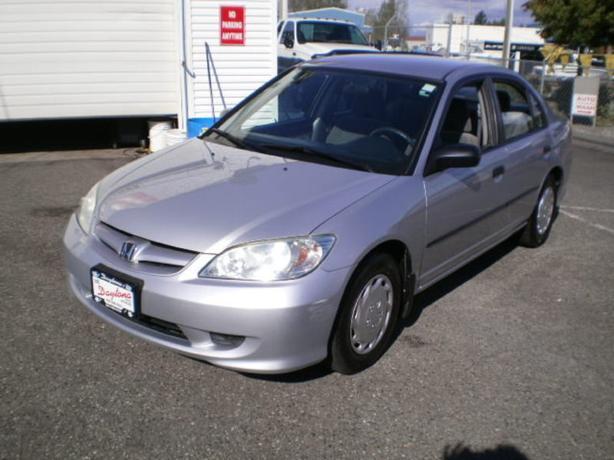 2005 Honda Civic SE, auto, 2 year power train warranty,