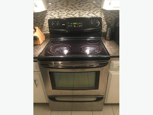 FREE: partially working Kenmore stove