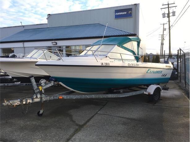 1995 Abbott Boats Ltd Explorer 188 -