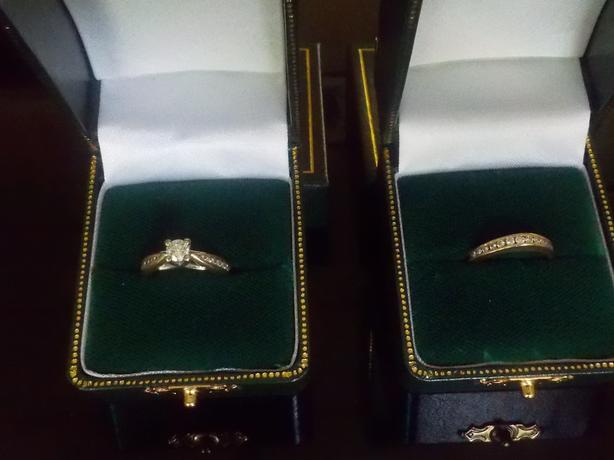 Beautiful diamond ring set