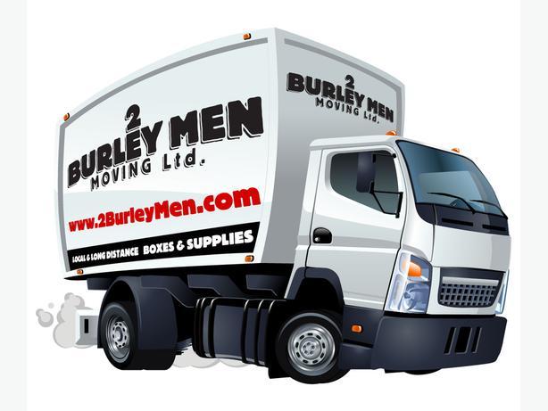 2 Burley Men Moving in Edmonton