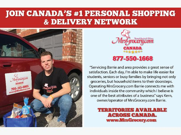 Own & Operate MrsGrocery.com Business in Campbell River!